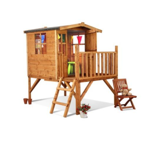 Buy Mad Dash Bunny Tower Wooden Playhouse 6 x 5 from our Children\'s ...