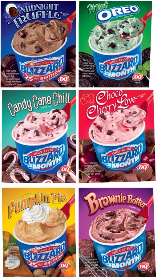 Dairy Queen blizzards forbidden foods Pinterest Dairy queen