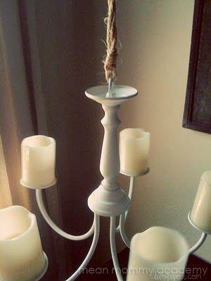 Diy Chandelier Www Mormonmommyblogs Com 2010 07 Creating Candle