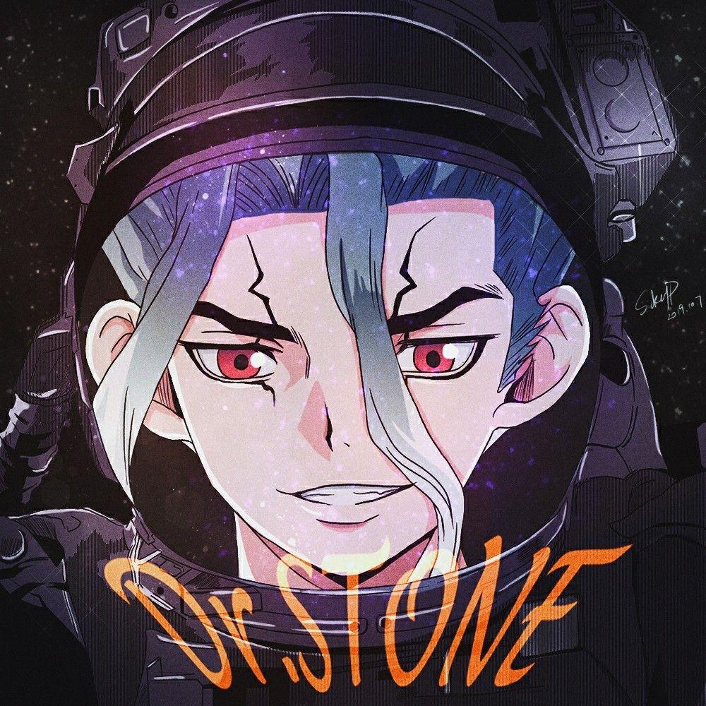 Pin By Dariya Morozova On Doktor Stoun Art Block Anime Wallpaper Lucy Stone