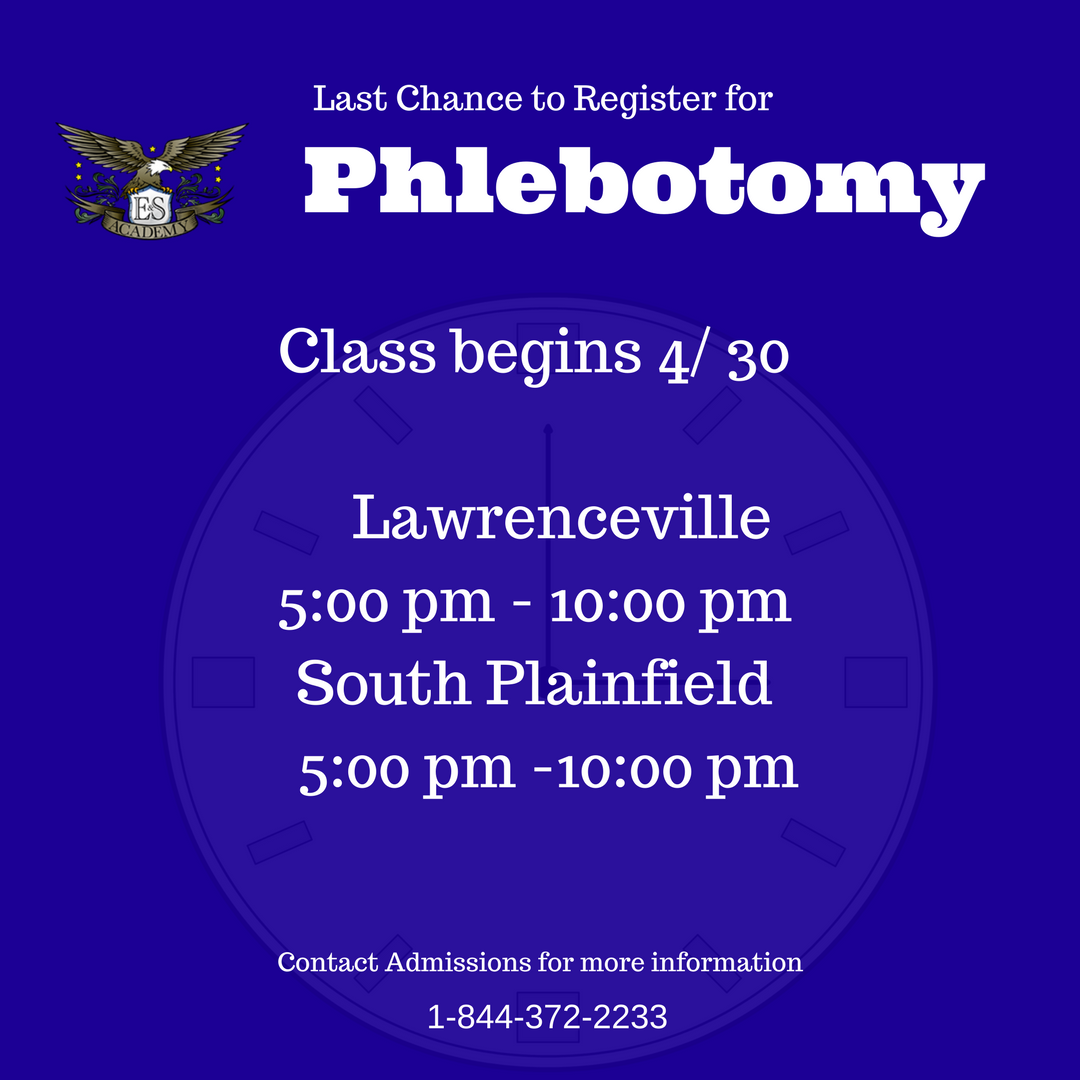 Interested In A Certification In Phlebotomy Classes Begin Soon At