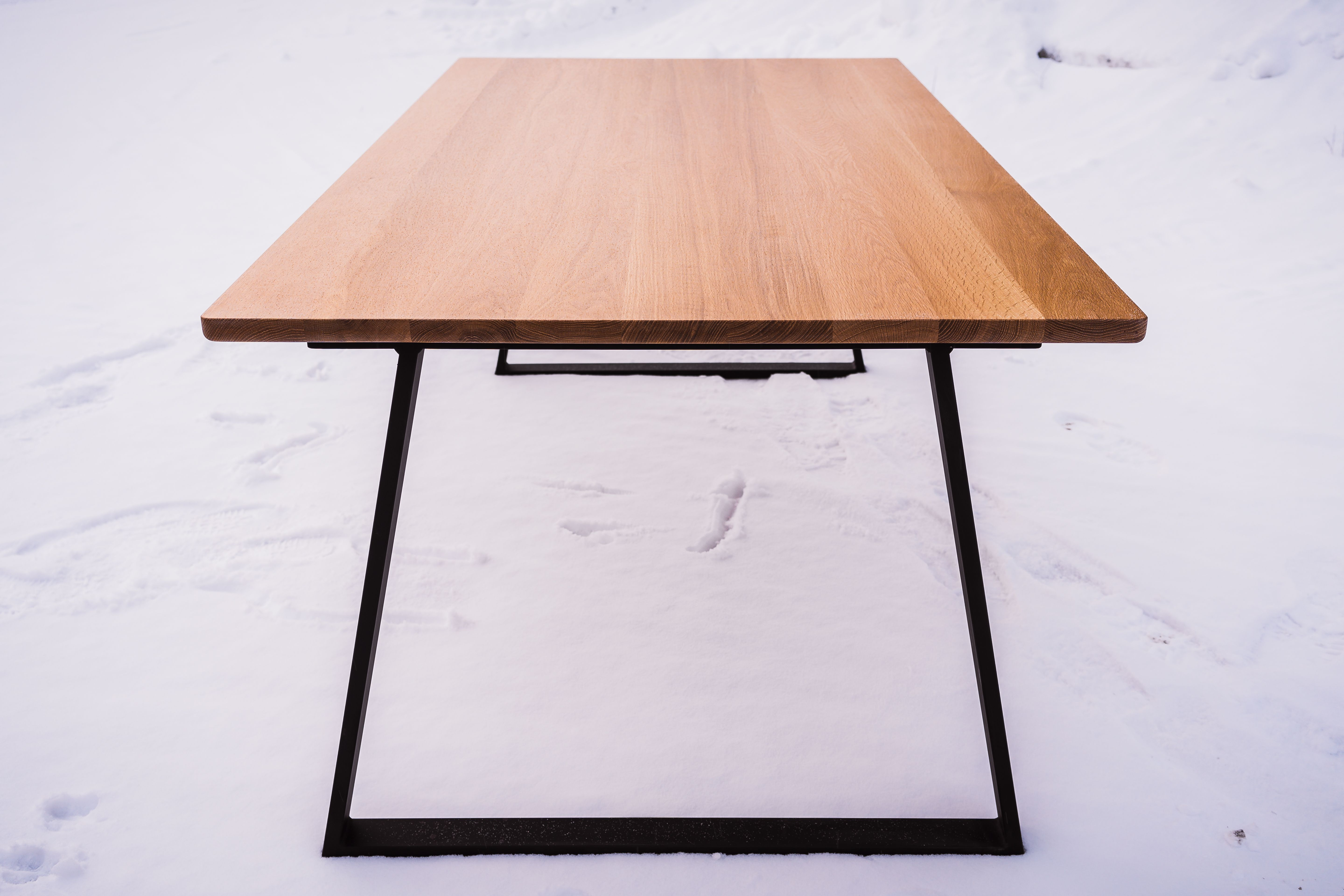 Dining Table From White Oak Furniture Design Interior Design Dining Table