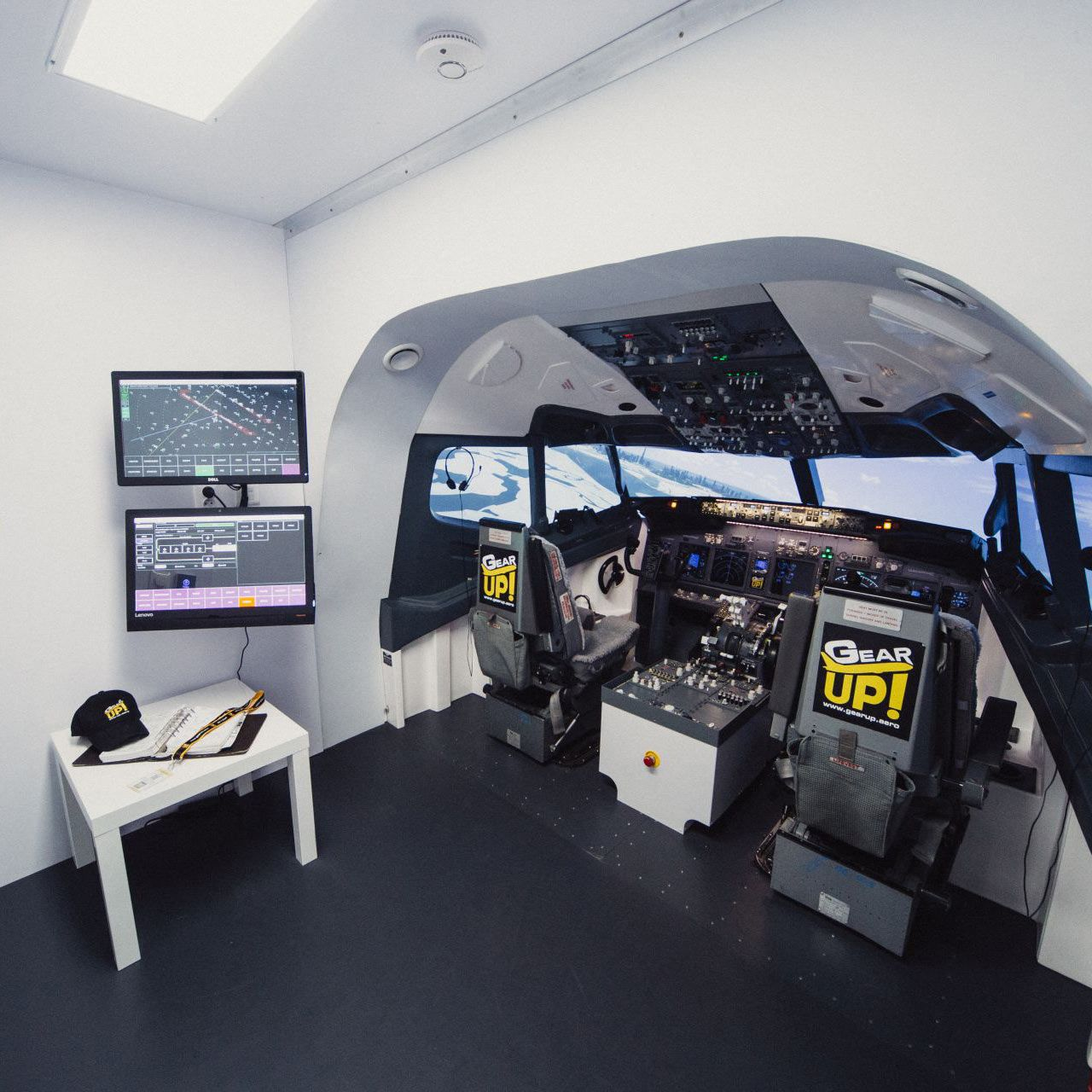 flight simulator, turnkey simulator, complete simulator, simulator