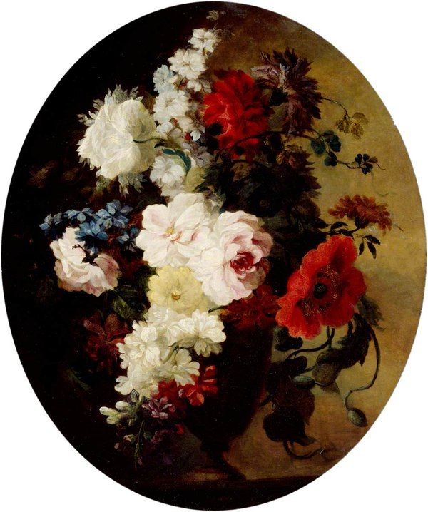 A Vase of Flowers by Mary Moser, founder of the Royal Academy.