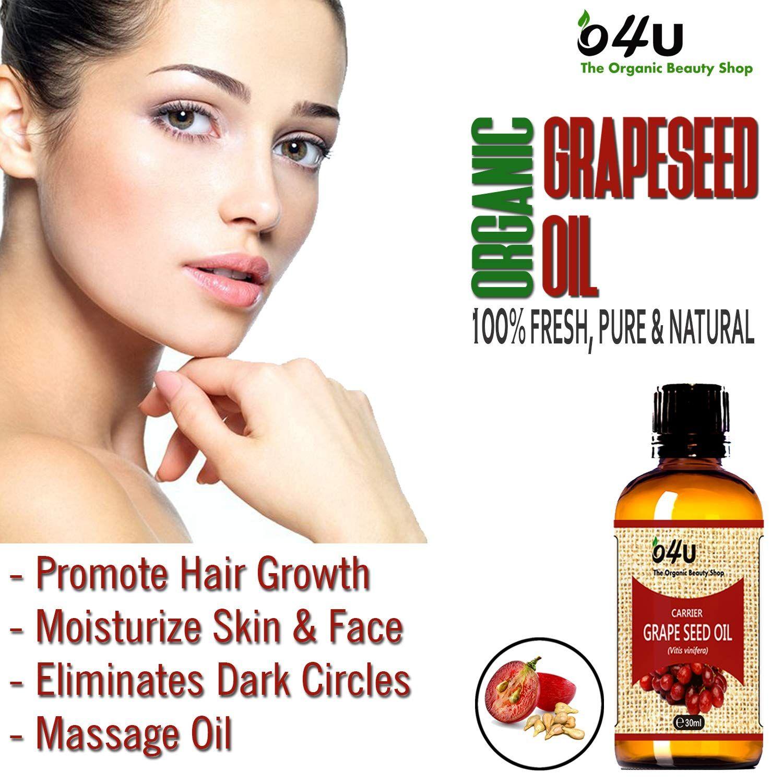 Grape Seed Oil Oils For Skin Organic Hair Care Grapeseed Oil
