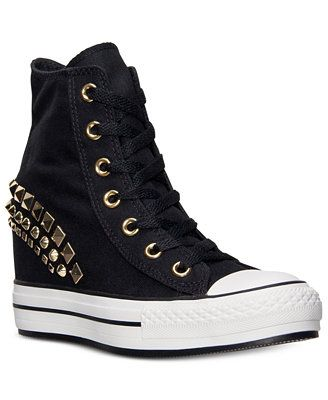 a7565c76f001 Converse Women s Chuck Taylor All Star Platform Plus Hi Casual Sneakers  from Finish Line