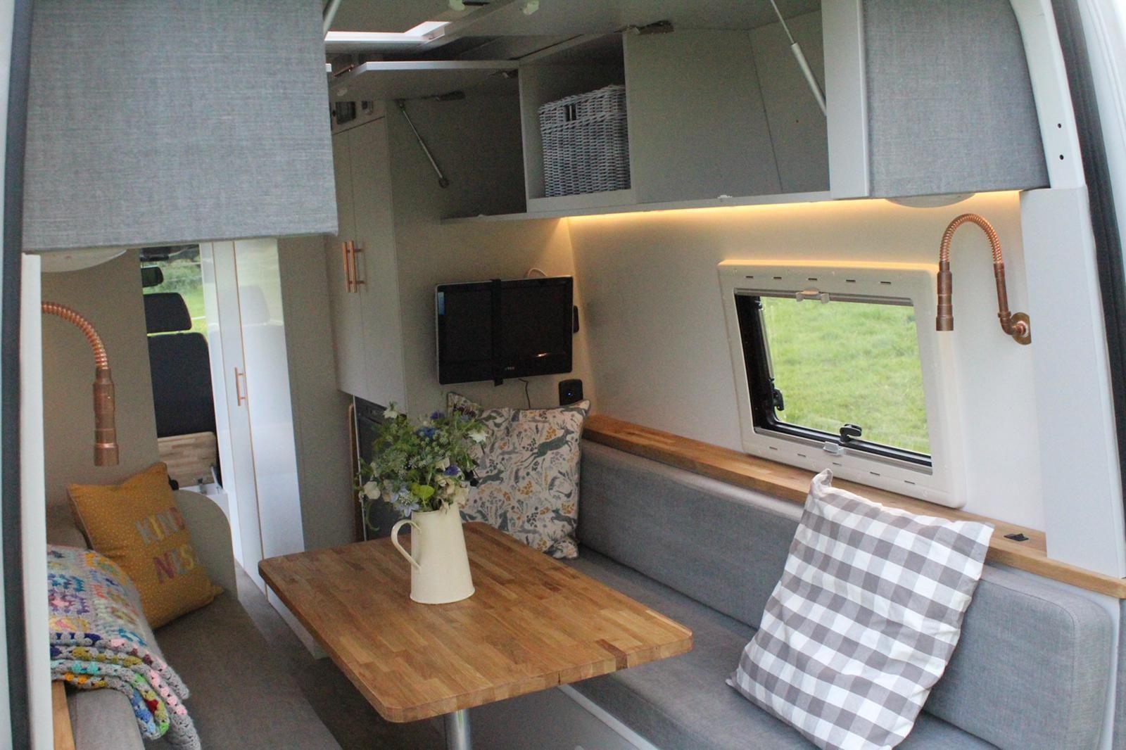 Olive Campervan interior, Interior, Campervan