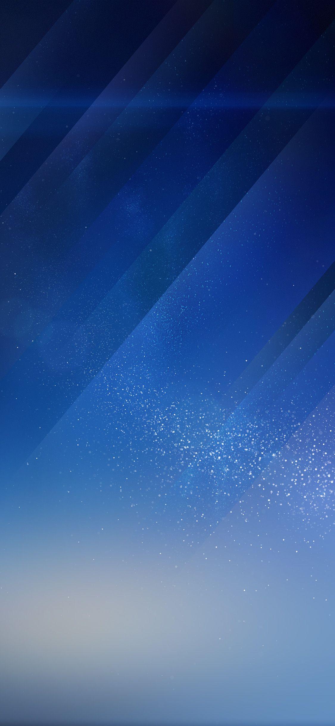 Blue pattern wallpaper