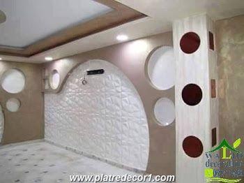 Decor de mur en platre deco placo pinterest - Decoration mur placo ...