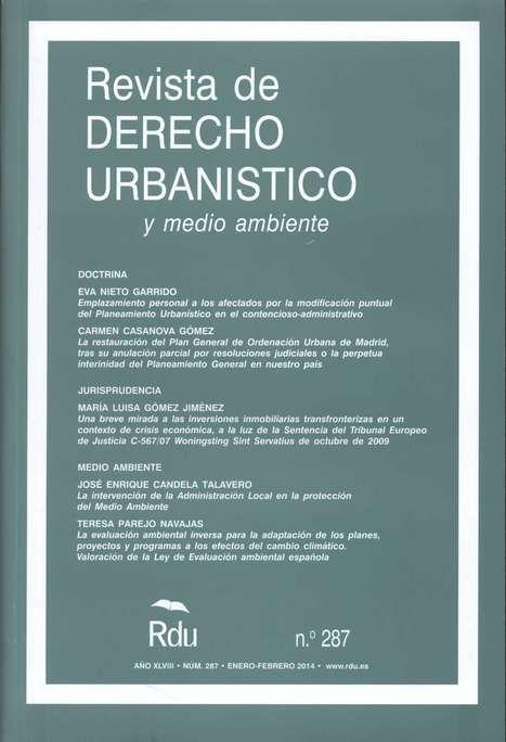 Revista de derecho urbanístico y medio ambiente