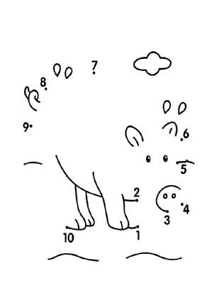Malen Nach Zahlen Zahlenbild Schwein Malen Nach Zahlen Bilder Kostenlose Ausmalbilder