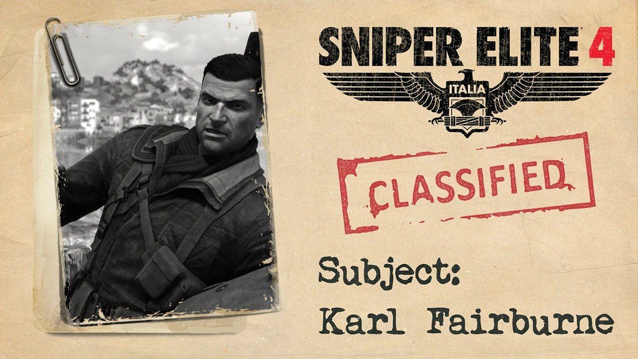 "Sniper Elite 4 - ""Karl Fairburne"" Trailer https://www.youtube.com/watch?v=wHSE-K78ihE #gamernews #gamer #gaming #games #Xbox #news #PS4"