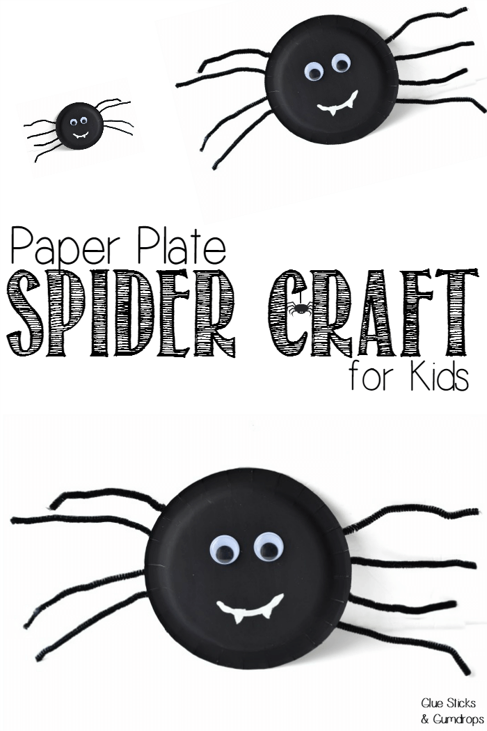 This paper plate spider craft is easy enough for toddlers and preschoolers to do all by themselves. It\u0027ll make a spooky little addition to a door or window!  sc 1 st  Pinterest : paper plate activity preschool - pezcame.com