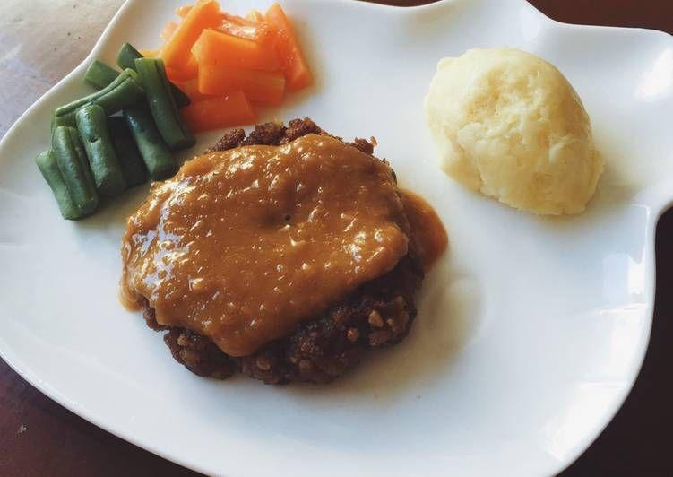 Resep Hamburg Steak Oleh Fitha Fitri Ramadhiani Resep Resep Makanan Resep Makanan