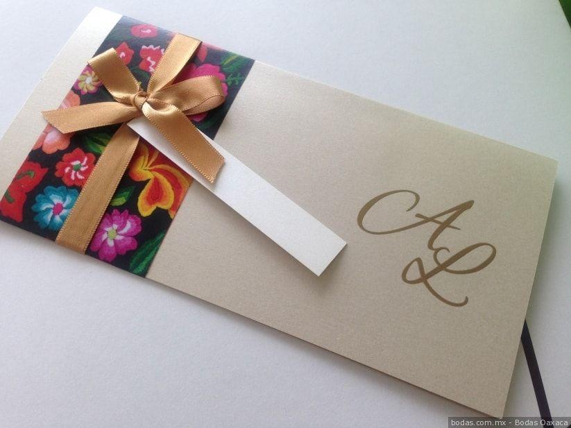 30288d6d659 Invitaciones originales para la boda mexicana Bodas.com.mx Bodas Oaxaca   wedding  invitaciones  bodas