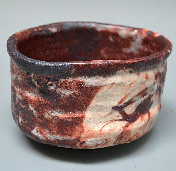 E Shino Chawan By Wakao Toshisada Chawan Japanese Pottery Clay Pottery