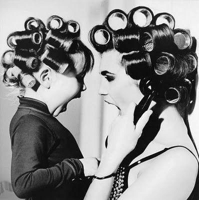 Salão de Beleza em casa... | Fotos, Fotos mãe e filho, Foto mae