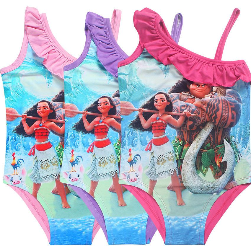 e7e9c9f203c Children and Young. $5.99 - Girls Moana Swimming Bikini Costume Swimwear  Swimsuit Bathing Suit 3-10Yrs #ebay #Fashion