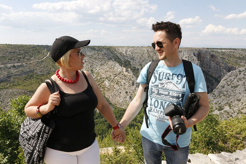 Lea I Slavisa Brezar Croatia Tourist Board National Parks