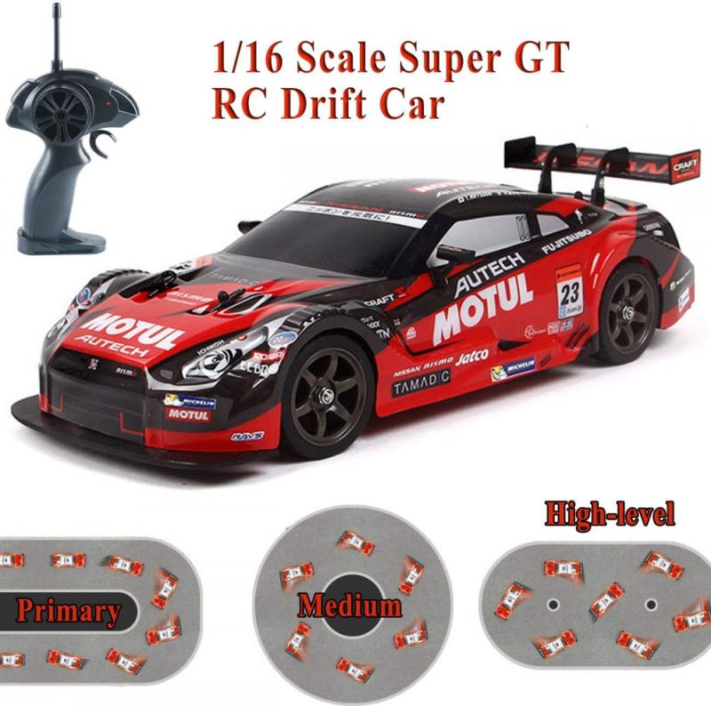 Super GT RC Sport Racing Drift Car, 1/16 Remote Control