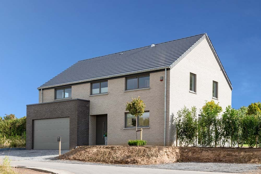 Maison contemporaine - maison moderne - basse énergie - architecture - tva construction maison neuve