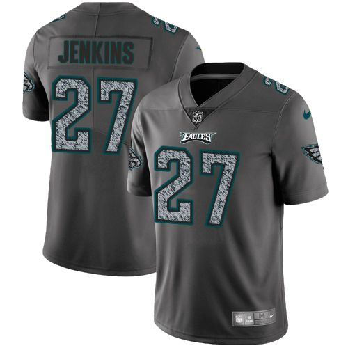 nike eagles 27 malcolm jenkins gray static mens stitched nfl vapor untouchable limited jersey