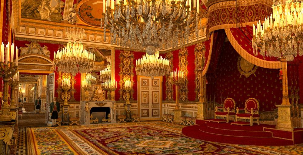 Épinglé par Luan sur Second Empire Elegance   Palais des tuileries, Salle  du trône, Le palais