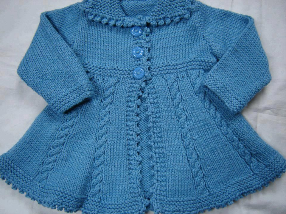 Todo para Crear ... : tejidos para bebe dos agujas | TEJIDOS ...