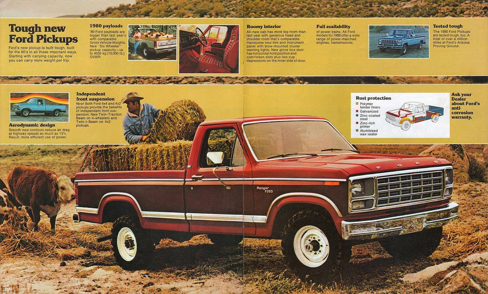 1980 Ford Pickup 12 13 Ford Pickup Ford Trucks Ford Truck