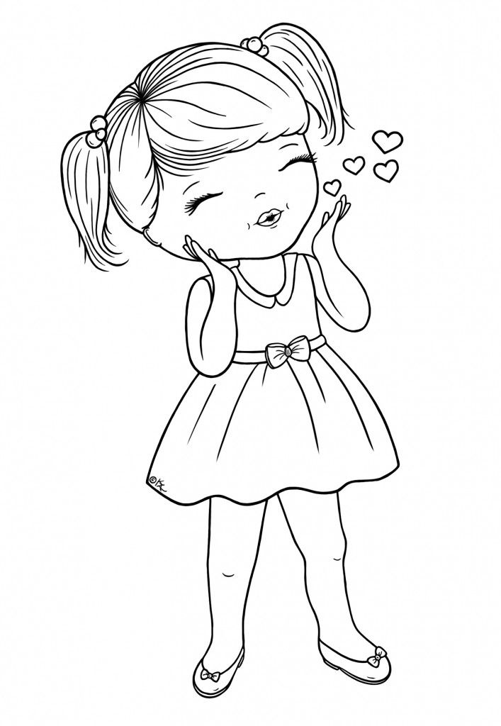 Blowing-Kisses-BW-BearyWishes.com - lots of cute digis on this site - many free and many to purchase