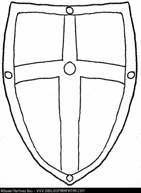 escudos medievales para colorear e imprimir - Buscar con Google ...