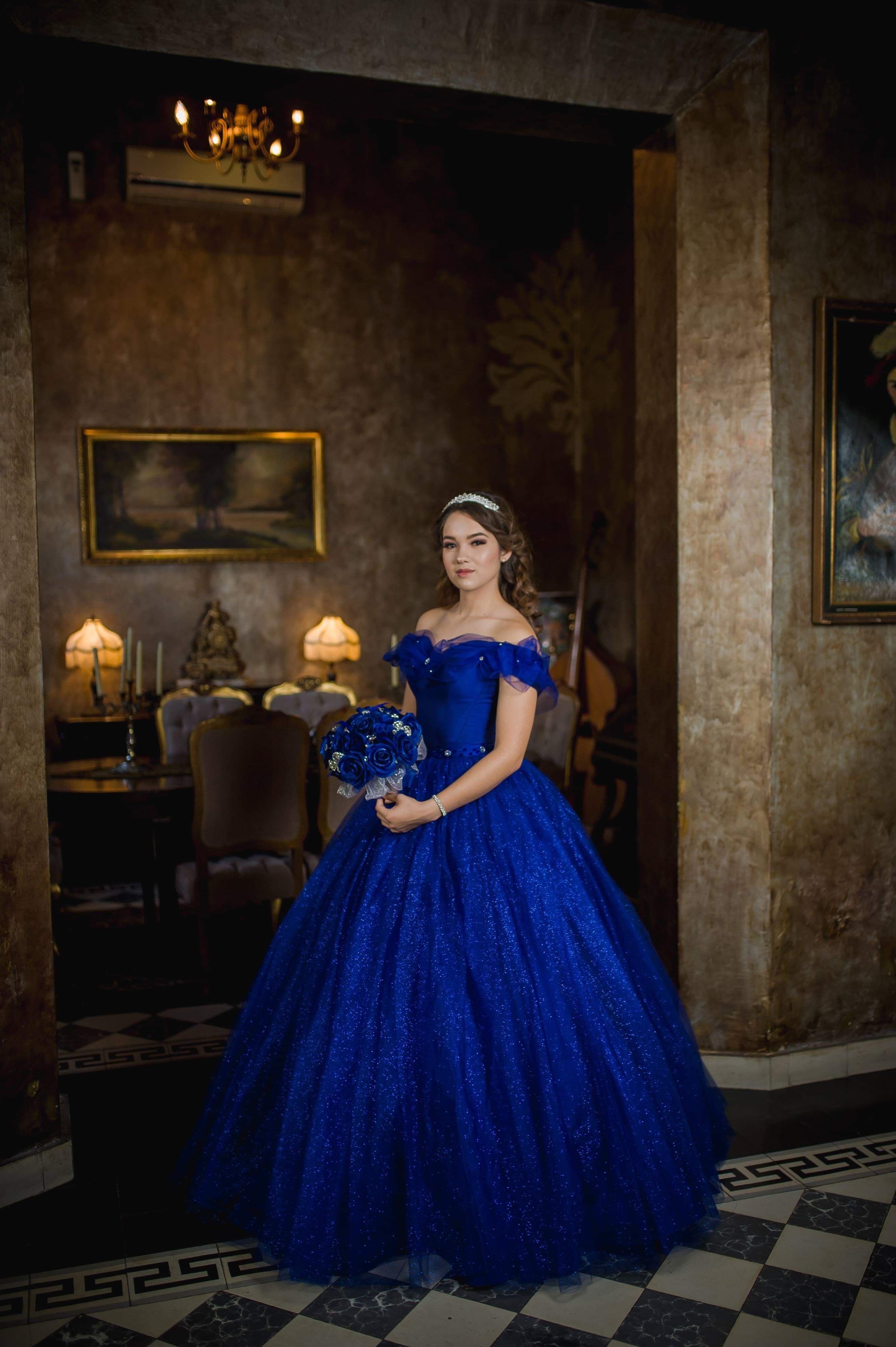 822617935 Vestido de xv, cenicienta #xvaños #cenicienta #vestidodeprincesa #azul # princesas