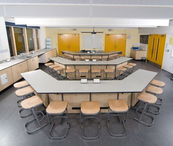 Science Classroom Design Ideas: School Lab By British Thornton