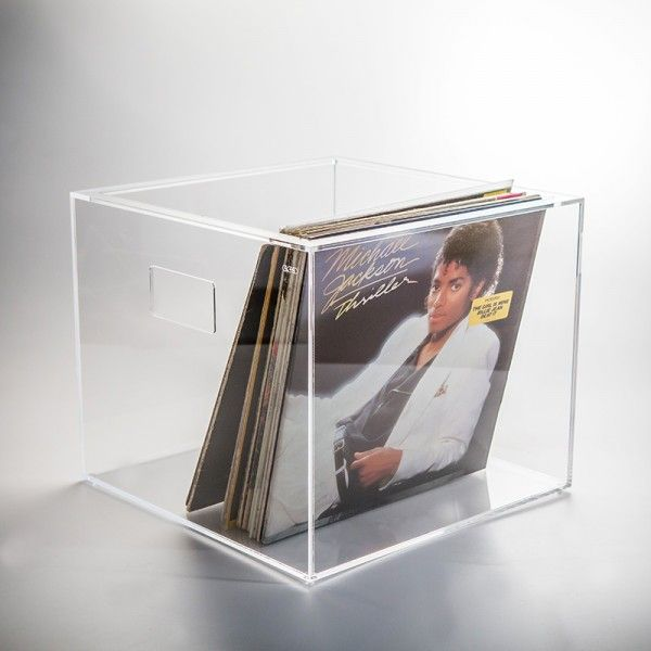 Vinilio Perspex Record Storage Box For Vinyl Randomness