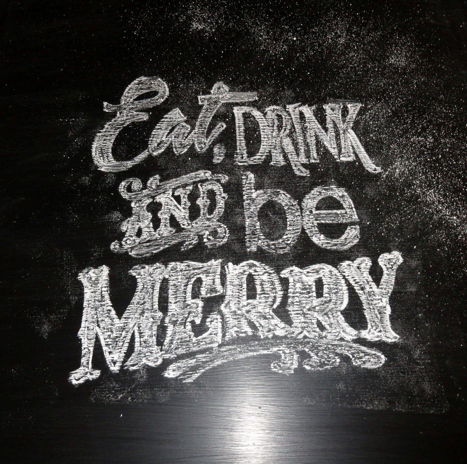 Holy Craft Easy Chalkboard Typography Art Tutorial Tableau Noir Tableau Comment Ecrire