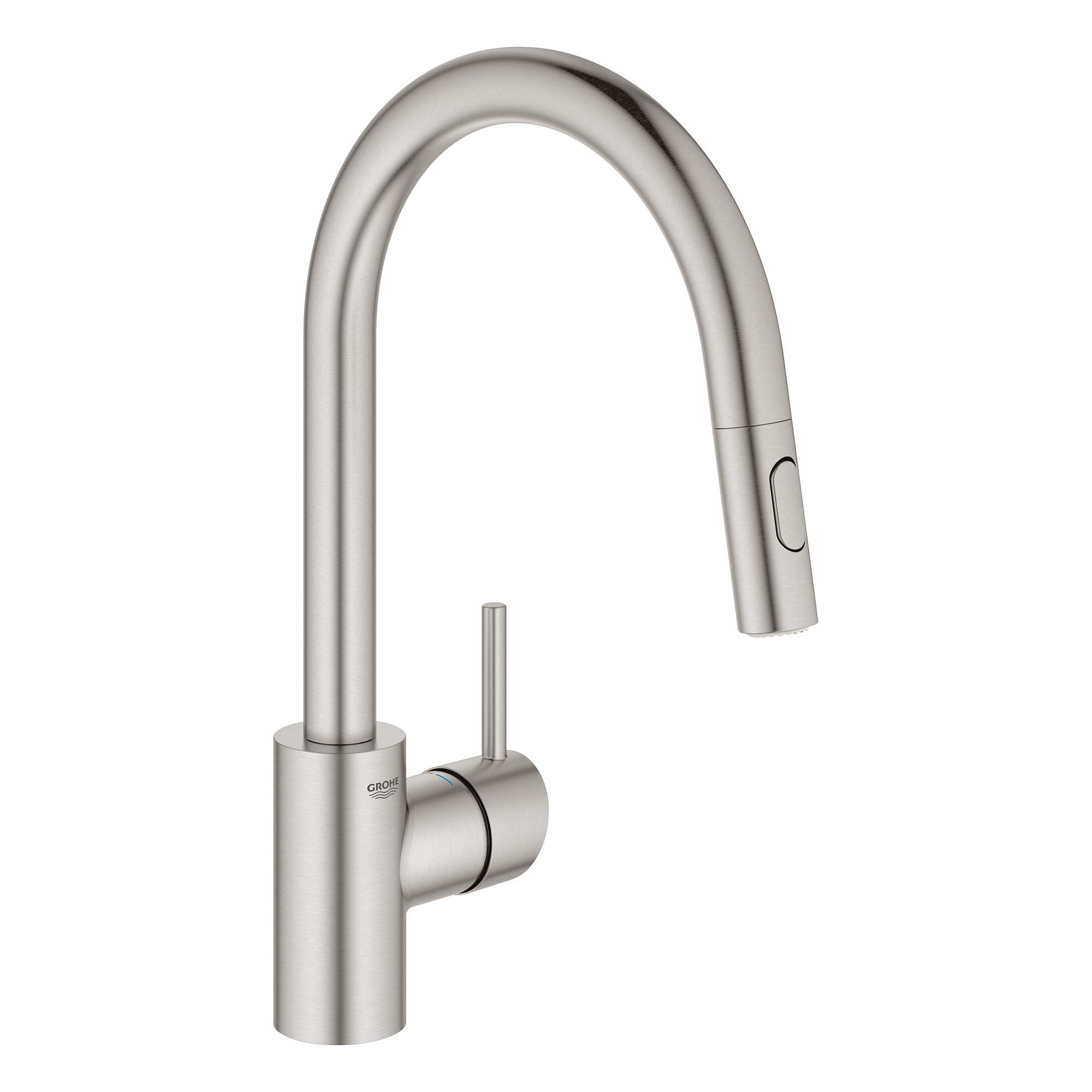 Grohe 32665dc3 Concetto Dual Spray Pull Down Kitchen Faucet