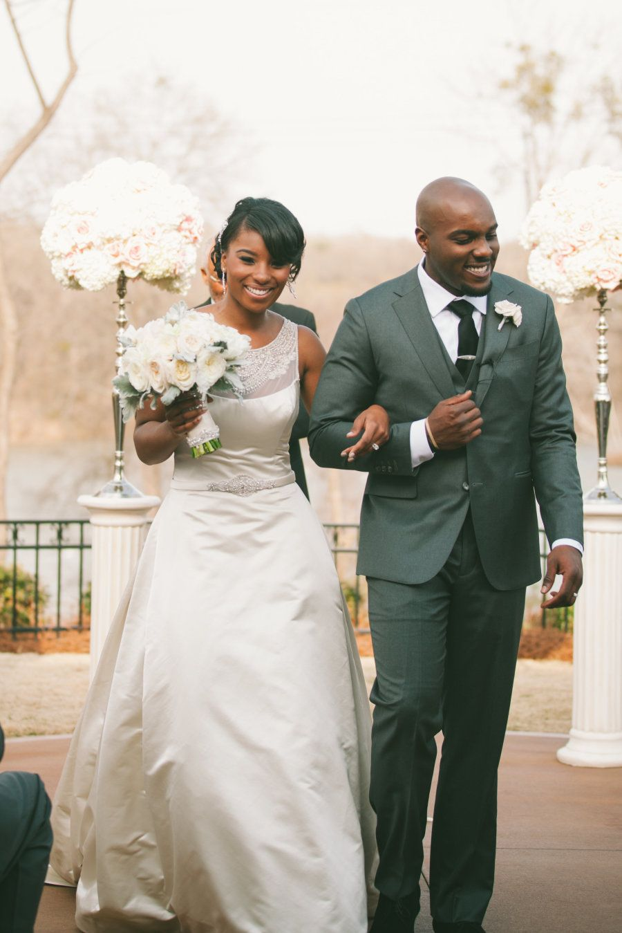 Glamorous spring wedding in charlotte charlotte african american