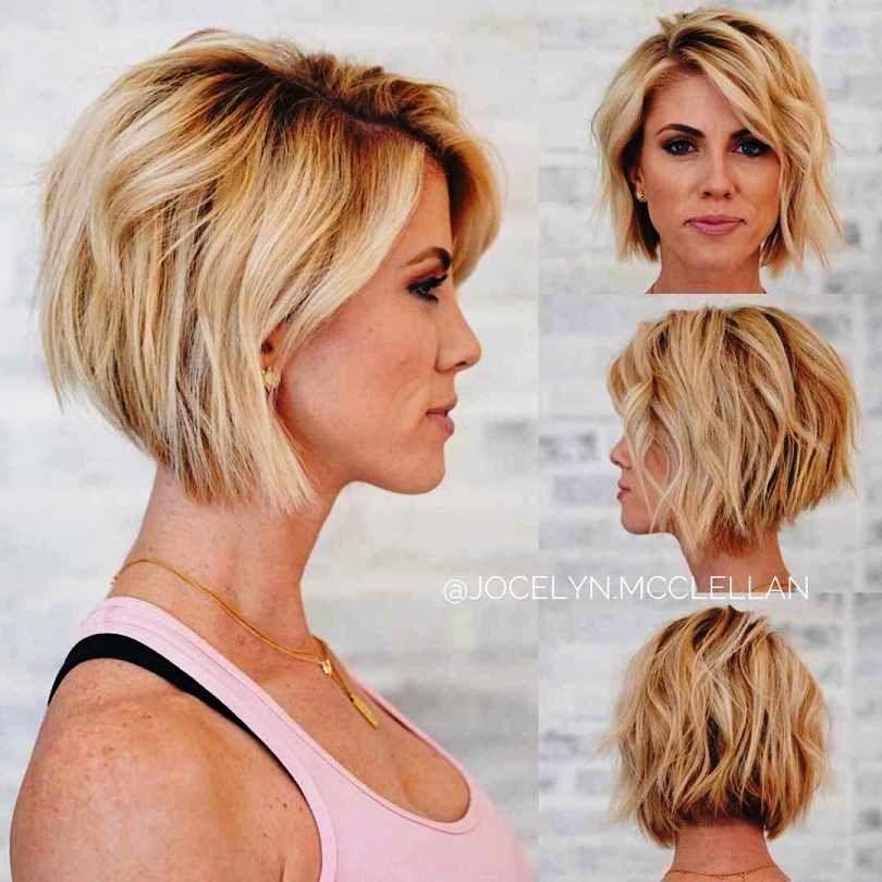 20 Short Haircuts To Make You Look Like A Model Short Thin Hair Medium Hair Styles Thick Hair Styles