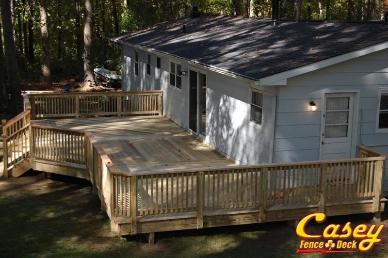 Lower Level Deck Gallery - Casey Fence and Deck, LLC ...