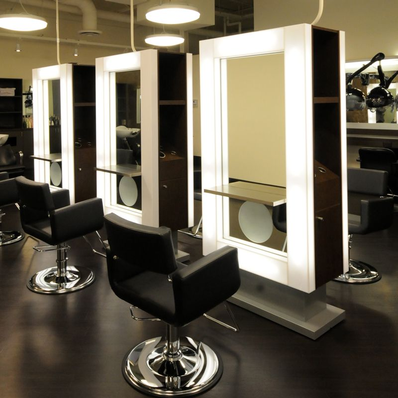 Our Contemporary Vega Salon Double Styling Station With
