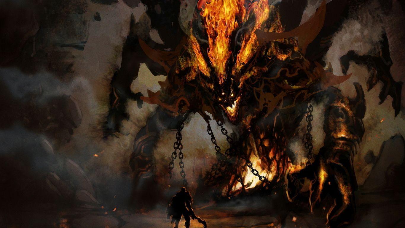 Epic Fire Dragon Wallpaper Google Search Creature Concept Art