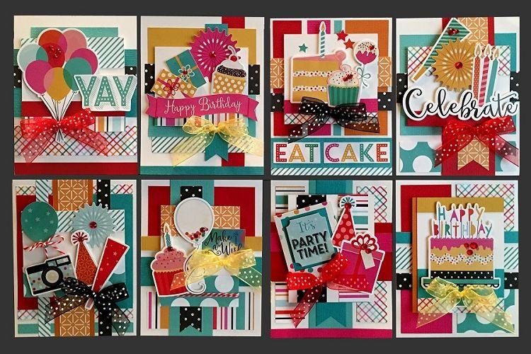 make a wish card kit  kim's card kits  handmade greeting
