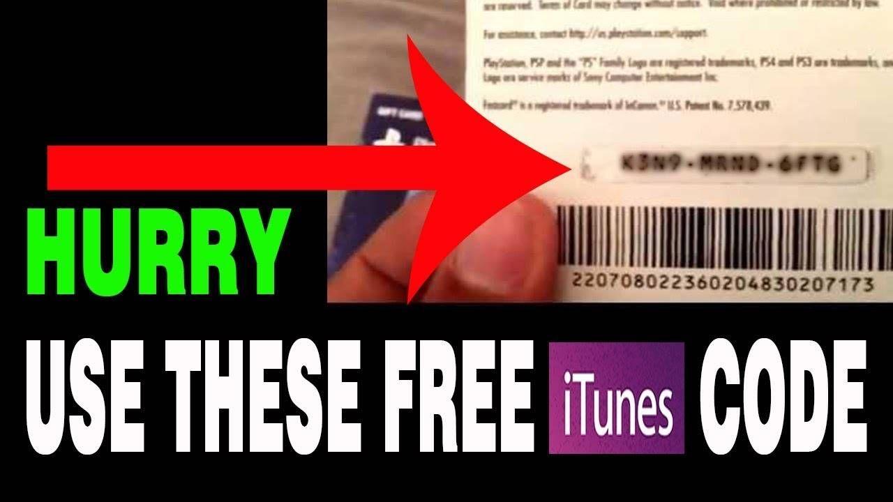 Free Itunes Gift Card No Human Verification