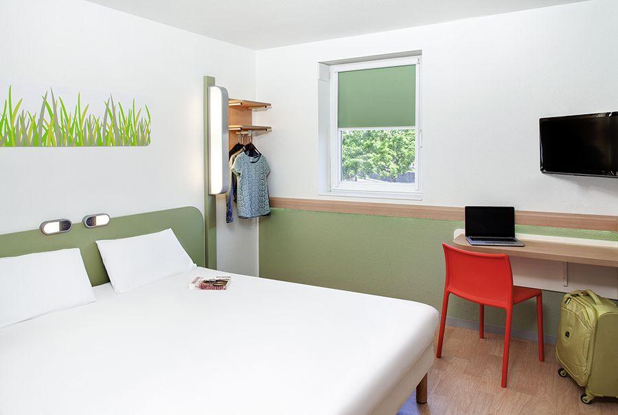 Chambre Double à l\'hôtel Ibis Budget de Montferrand ...