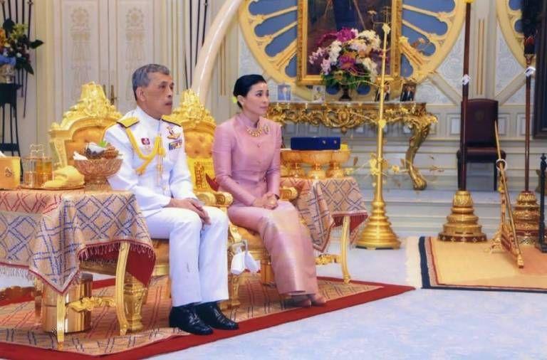 Thailandischer Konig Hat Geheiratet Thailand Hochzeit Thailandischer Konig Heiraten