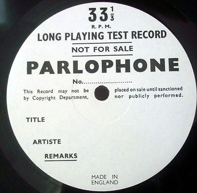 THE BEATLES - HARD DAYS NIGHT  LP ( PARLOPHONE TEST PRESSING
