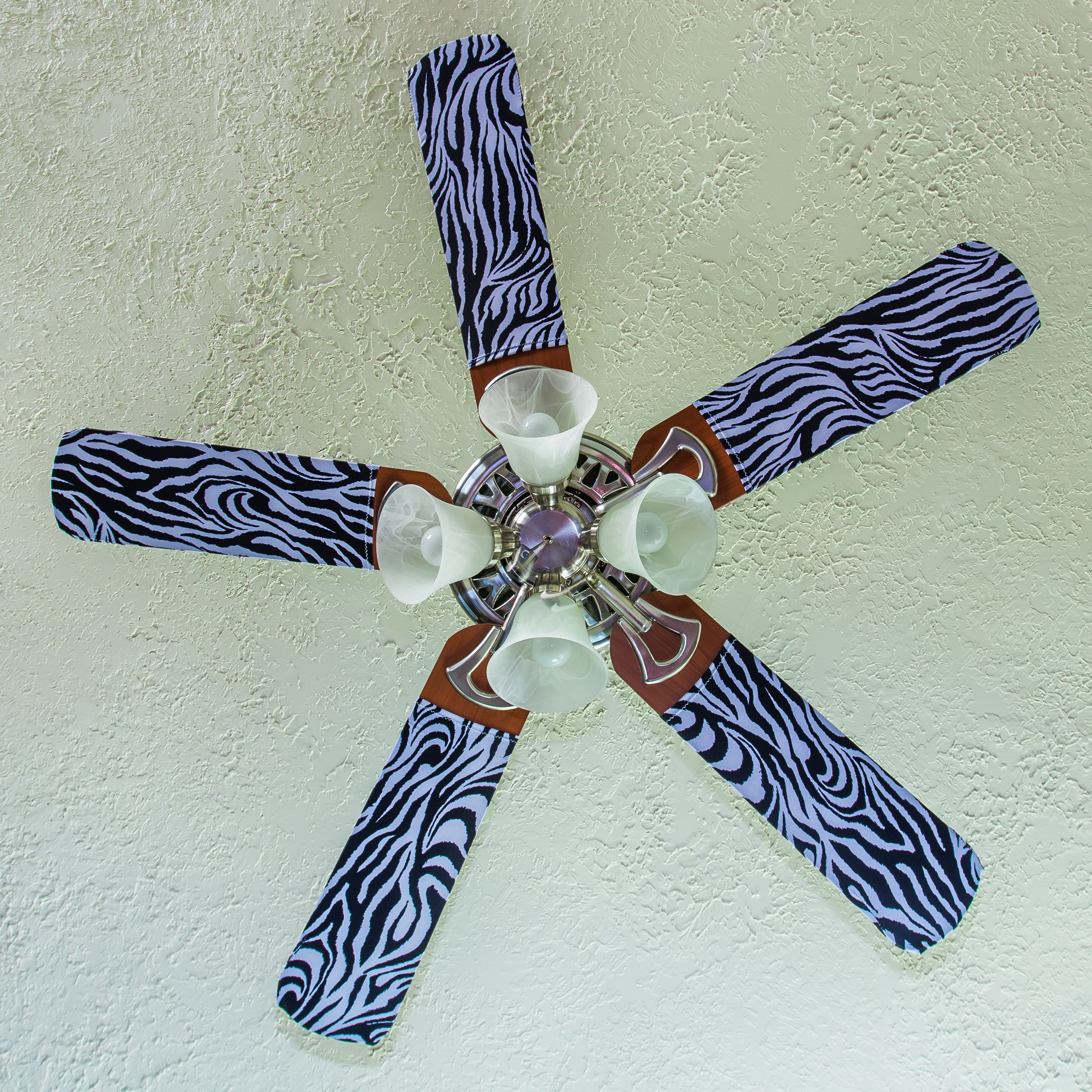 A Fun Fancy Way To Redecorate Any Room Slip On Fan Blade