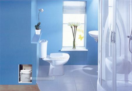 Macerating Toilets Upflushing Sewage Systems For Basements Bathroom Decor Add A Bathroom Bathroom Plumbing