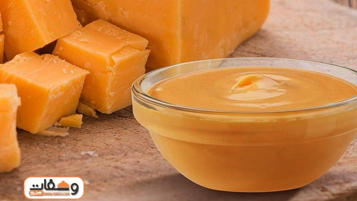 طريقة عمل صوص الجبنة الشيدر بـ 7 وصفات In 2021 Desserts Food Fruit