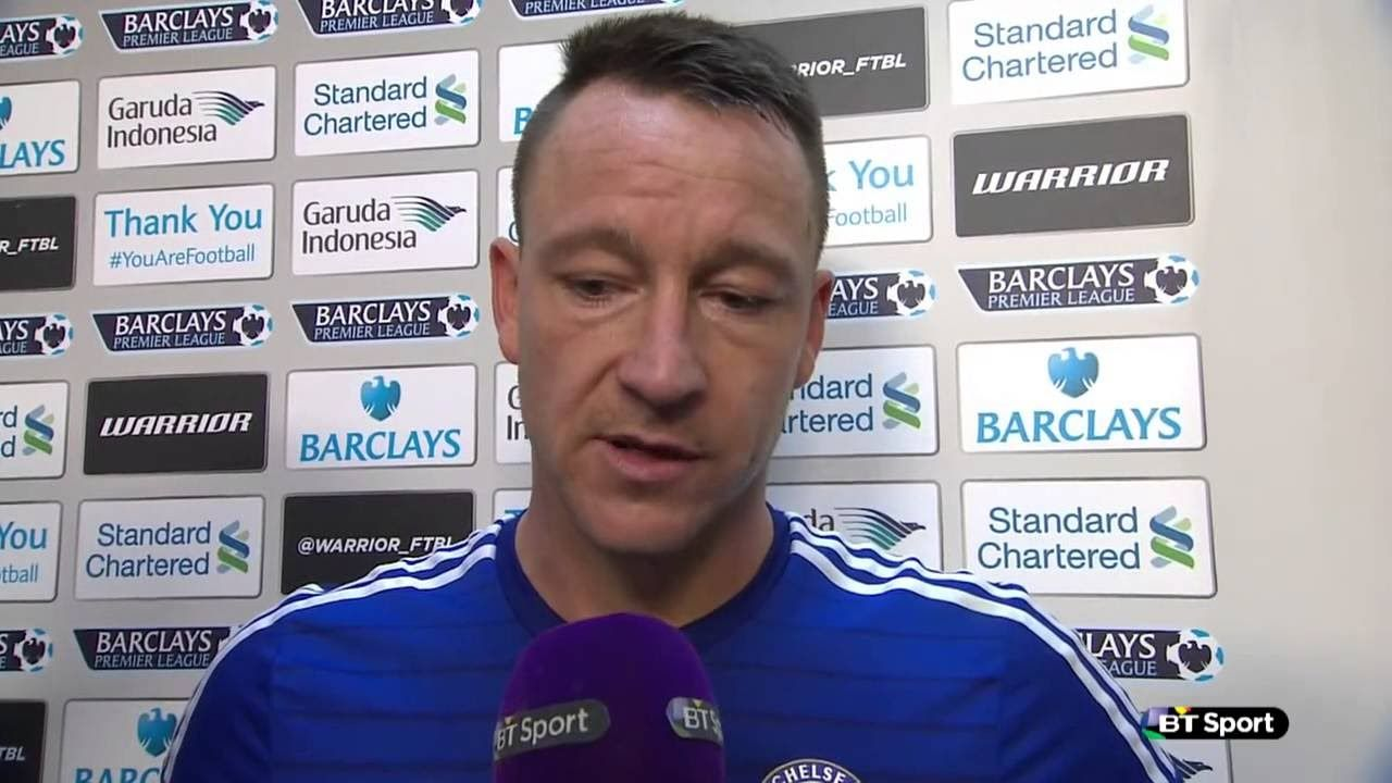 Chelsea 3 3 Everton John Terry Post Match Interview 'I